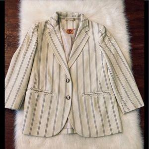 Tory Burch pinstripe blazer